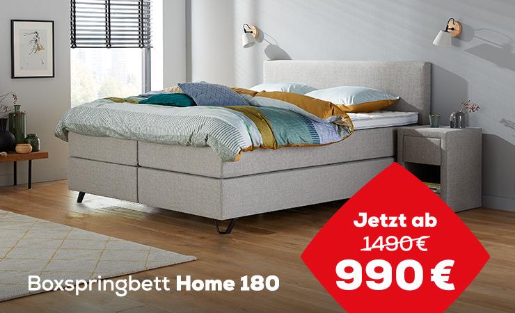 Boxspringbett Home 180 | Swiss Sense