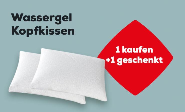 Aktion Wassergel Kopfkissen | Swiss Sense