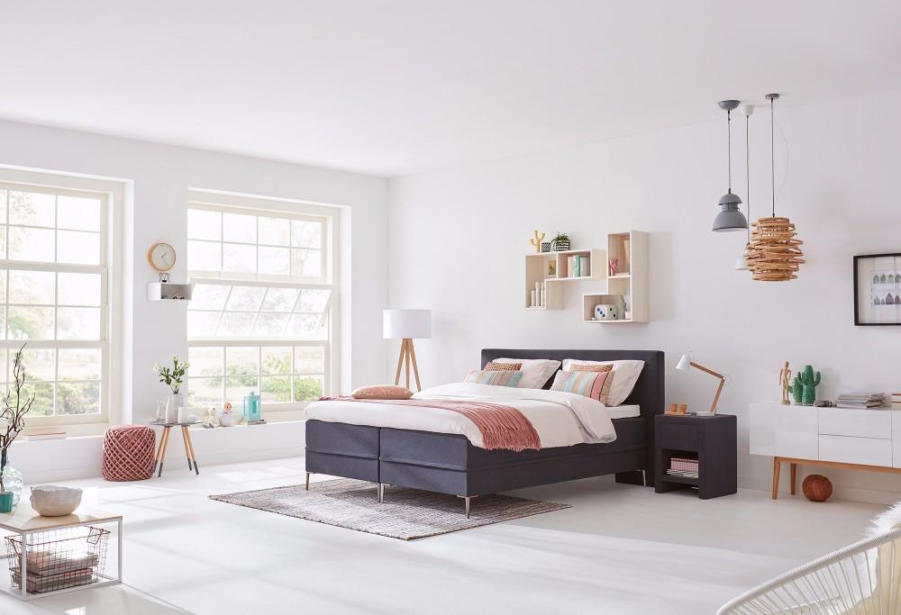boxspringbett lifestyle 150 swiss sense. Black Bedroom Furniture Sets. Home Design Ideas