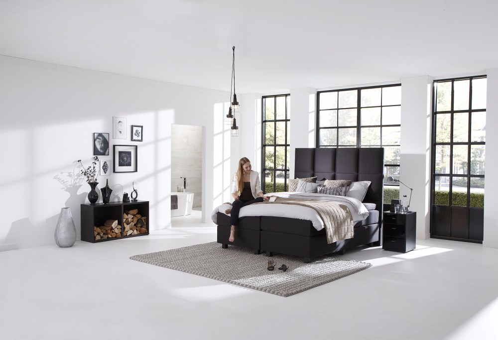 boxspringbett royal quantum swiss sense. Black Bedroom Furniture Sets. Home Design Ideas
