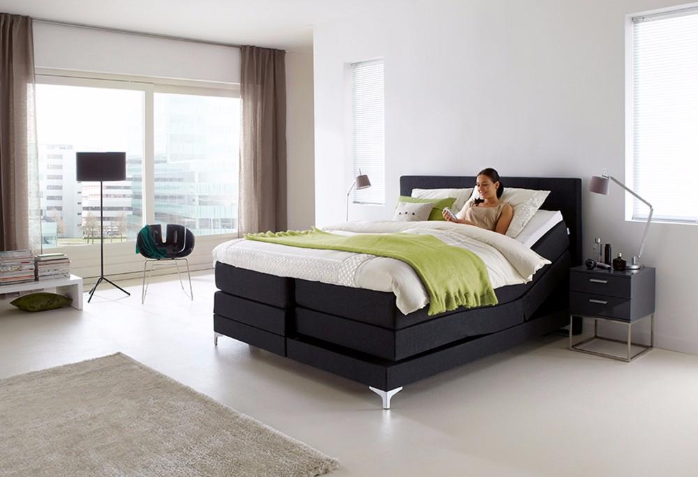 boxspringbett home 425 s swiss sense. Black Bedroom Furniture Sets. Home Design Ideas