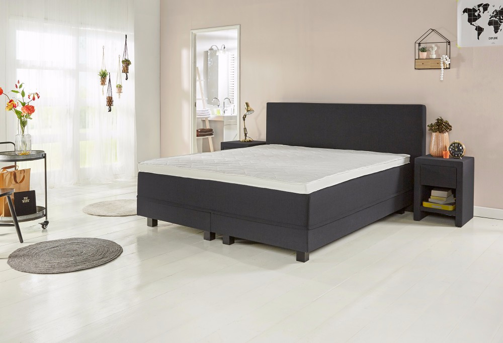 boxspringbett home 170 swiss sense. Black Bedroom Furniture Sets. Home Design Ideas