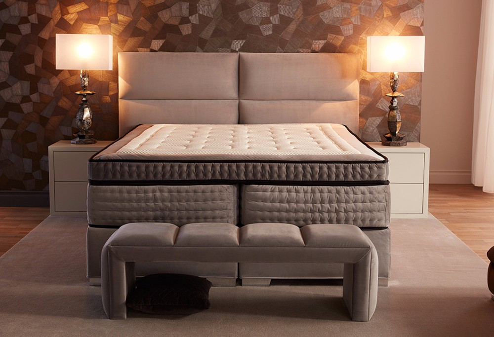 Bruine boxspring Royal Eclipse