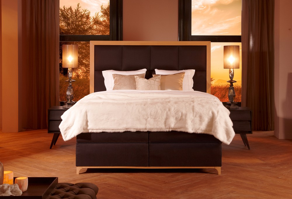 boxspringbett diks ivoire swiss sense. Black Bedroom Furniture Sets. Home Design Ideas
