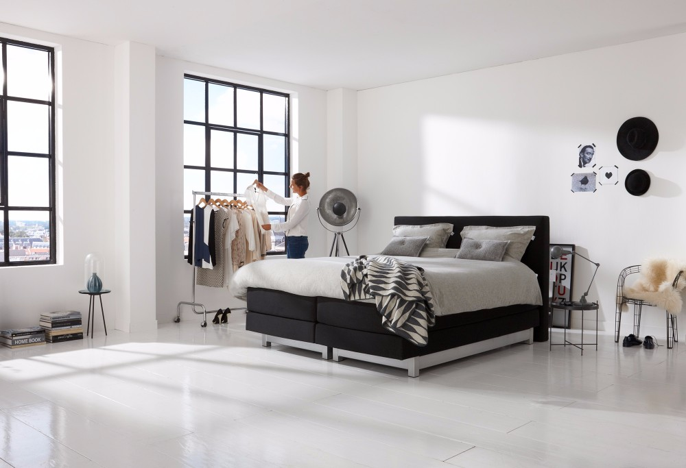 boxspringbett home 460 s swiss sense. Black Bedroom Furniture Sets. Home Design Ideas