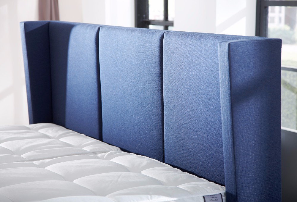 Blau boxspringbett Royal Phantom