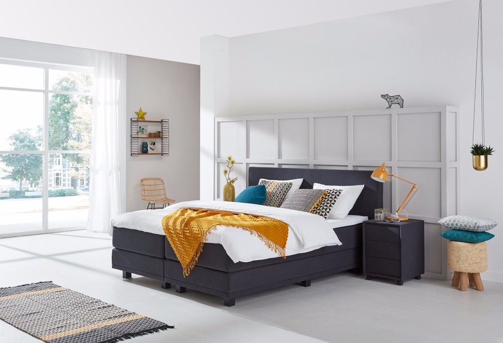 Boxspringbett design  Boxspringbett Home 130 | Swiss Sense
