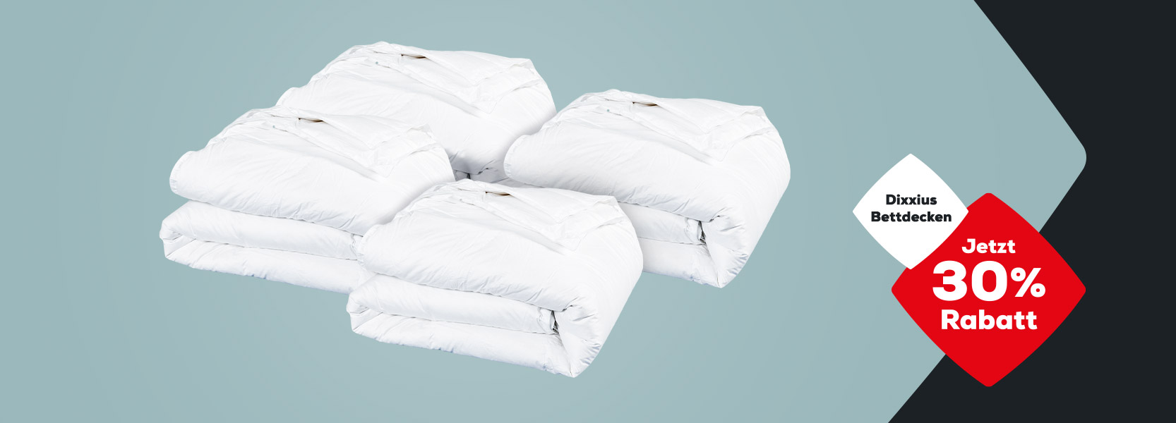 30% Rabatt auf Dixxius Bettdecken | Swiss Sense