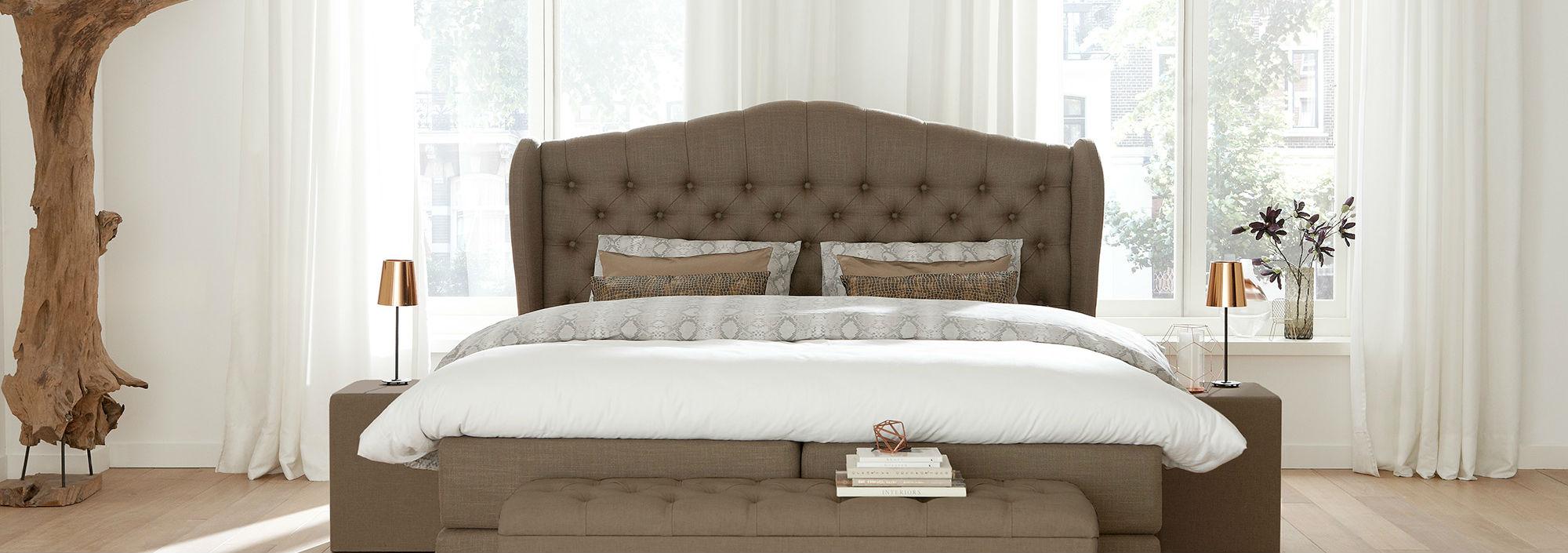 Amerikanische Betten - Banner