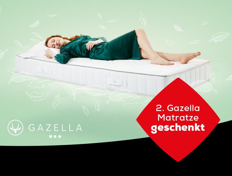 Gazella Matratzen Aktionen | Swiss Sense