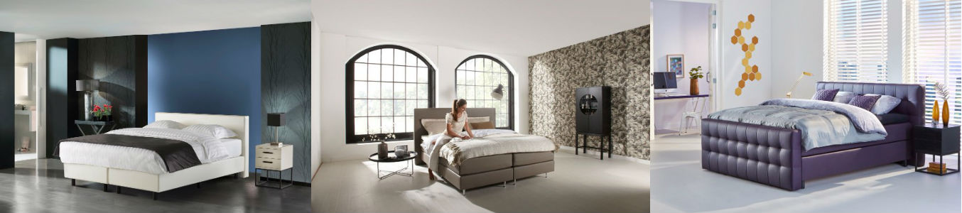 Lederlook Boxspringbett | Swiss Sense
