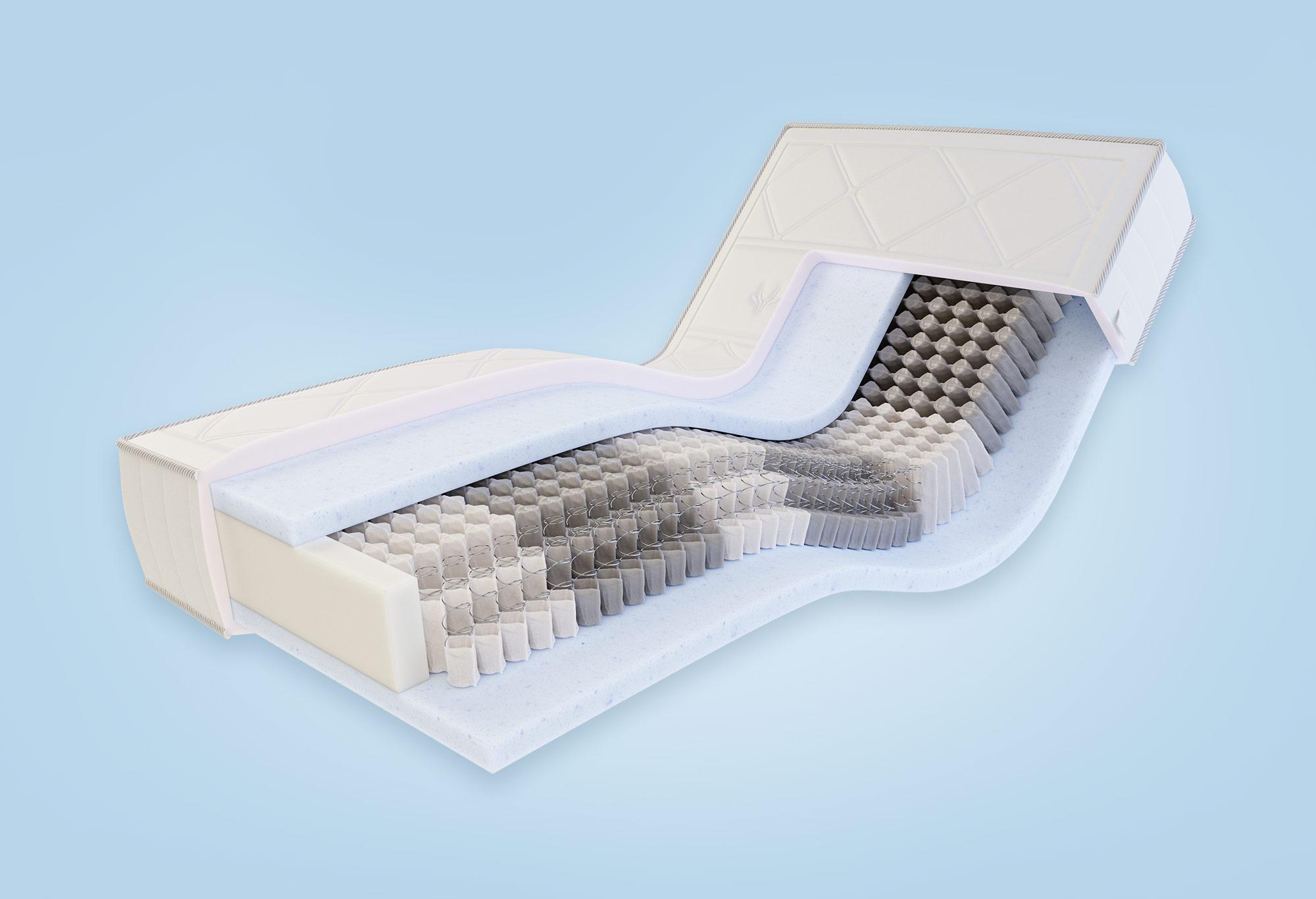 Gazella Breeze III Tonnentaschen-Federkernmatratze | Swiss Sense
