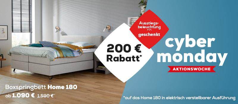 Boxspringbett Home 180 jetzt ab 1090 € (1590 €) - LMSS   Swiss  Sense