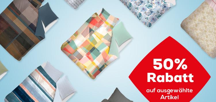 Letzte Tage 50% Rabatt auf Bettwäsche | Swiss Sense