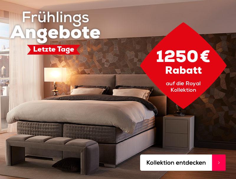 Letzte Tage 1250 € Rabatt auf die Royal Kollektion   Swiss Sense