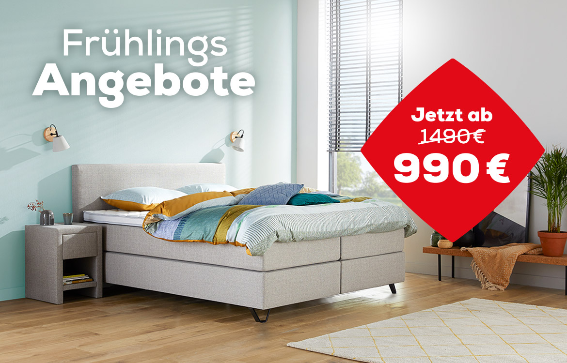 Home 180 Boxspringbett Fruhlings Angebote