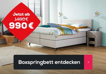 Boxspringbett Home 180 - Frühlings Angebote | Swiss Sense
