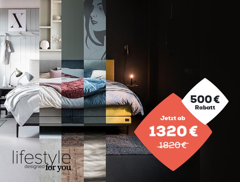 Late Summer Deals €500 Rabatt auf die Lifestyle Kollection   Swiss Sense
