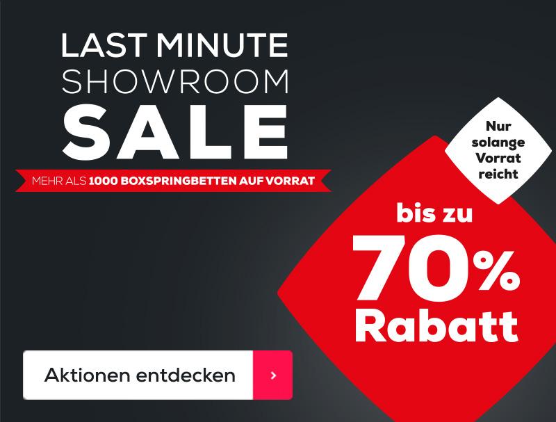 Last Minute Showroom Sale   Swiss Sense