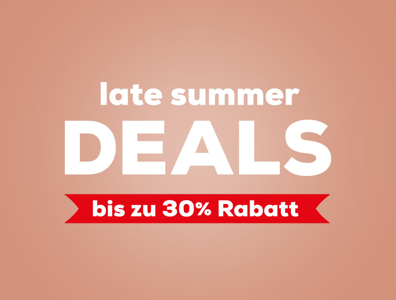 Late Summer Deals bei Swiss Sense |Bis zu 30% Rabatt