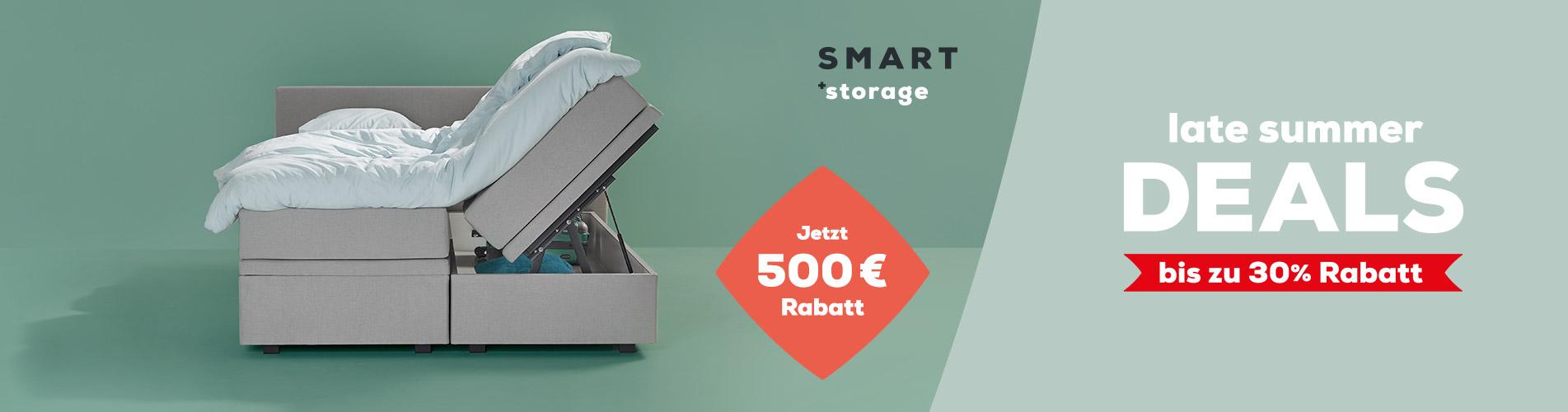 Smart (Storage) - Jetzt 500 € Rabatt | Late Summer Deals | Swiss Sense