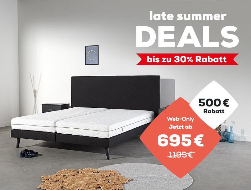 Web-Only jetzt ab 695 € | 1195 € - 500 € Rabatt | Late Summer Deals | Swiss Sense