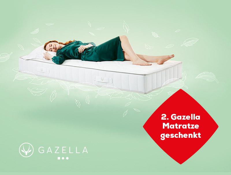 2 kaufen, 1 bezahlen auf Gazella Matratzen während des Late Summer Deals   Swiss Sense