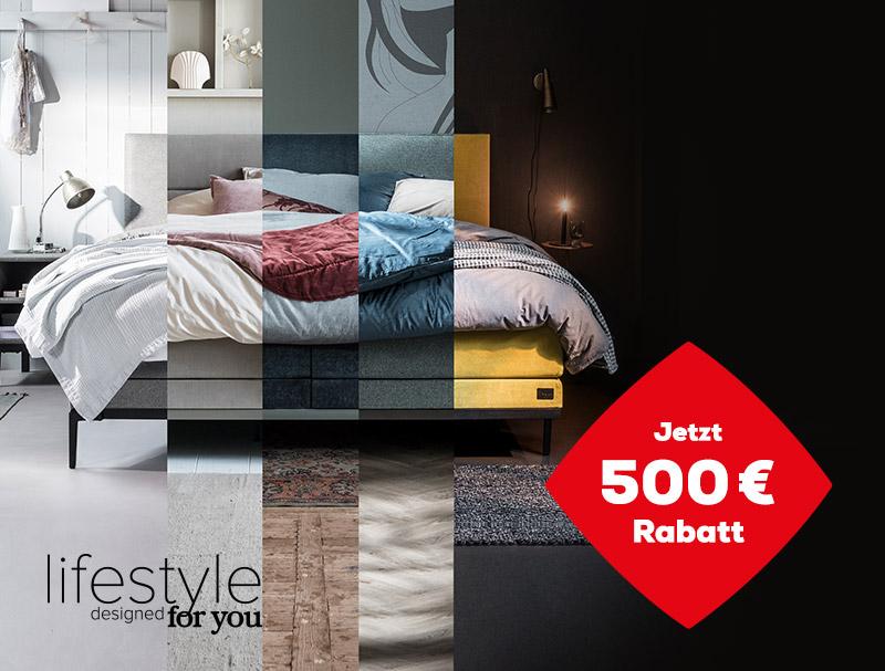 500 € Rabatt auf die Lifestyle Kollektion während des Late Summer Deals   Swiss Sense