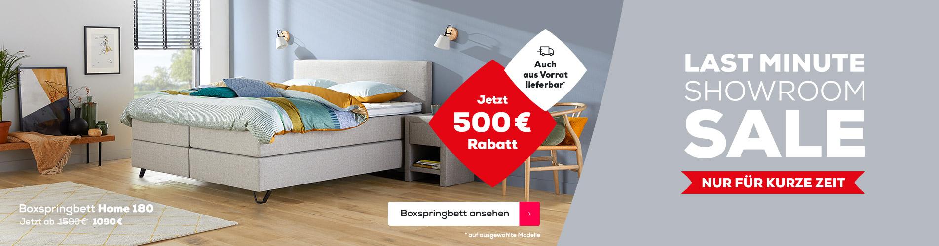 Boxspringbett Home 180 - LMSS | Swiss Sense