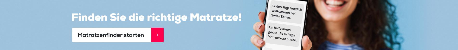 Matratzen finder   Swiss Sense