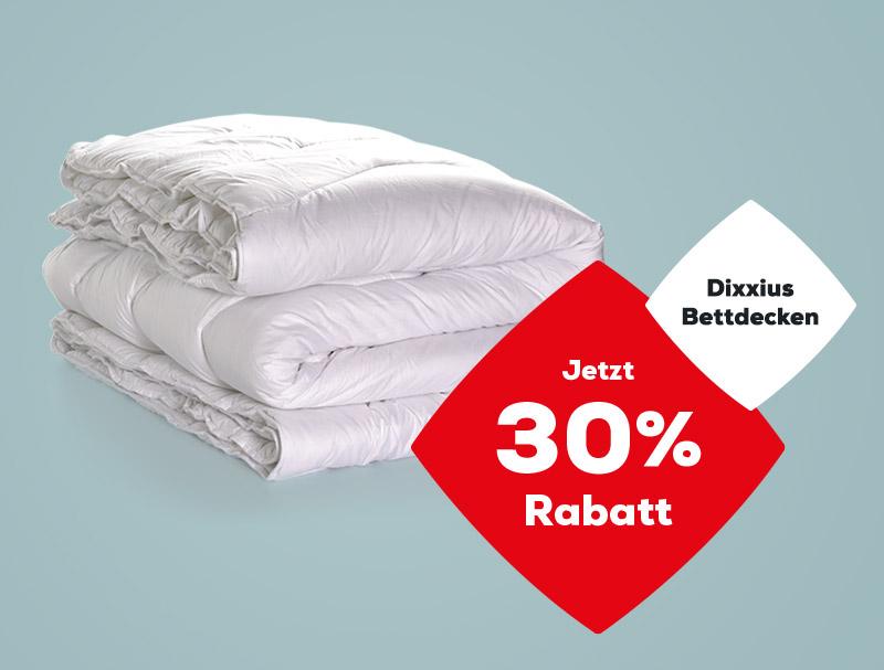 Dixxius Bettdecken 30% Rabatt | Swiss Sense