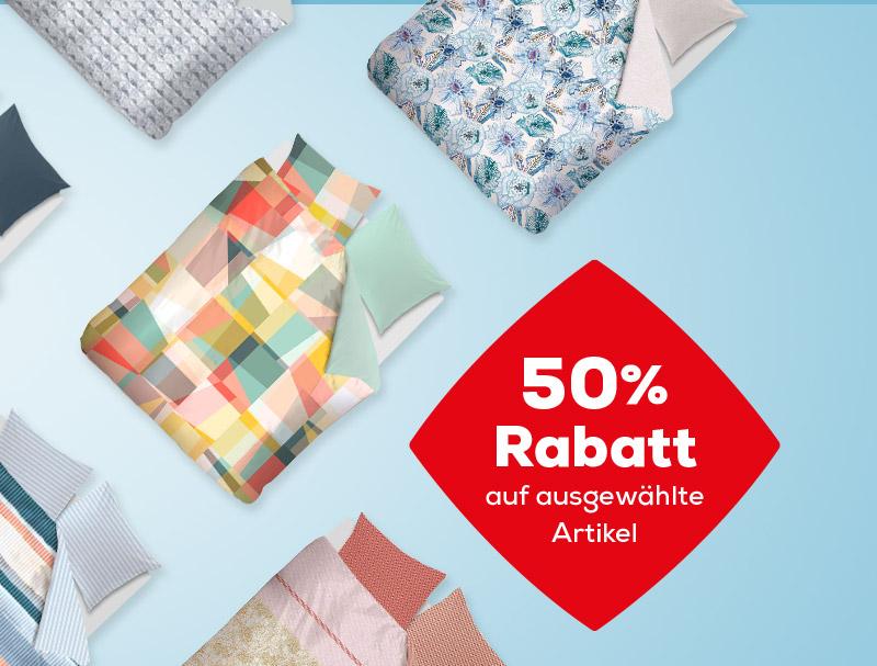 50% Rabatt auf Bettwäsche während des Summer Sales  Swiss Sense