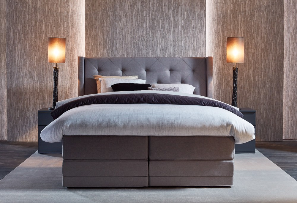 braun boxspringbett Royal Cayman