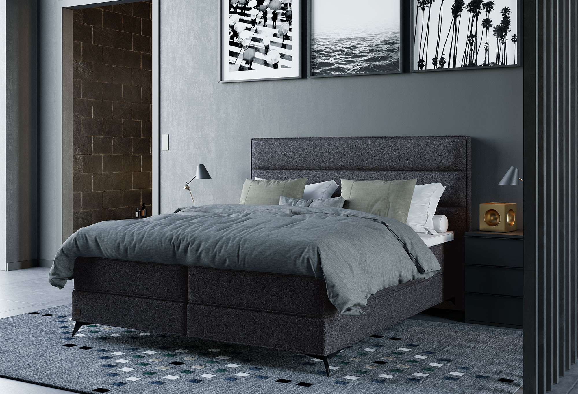 Boxspring Royal Luxor | Swiss Sense
