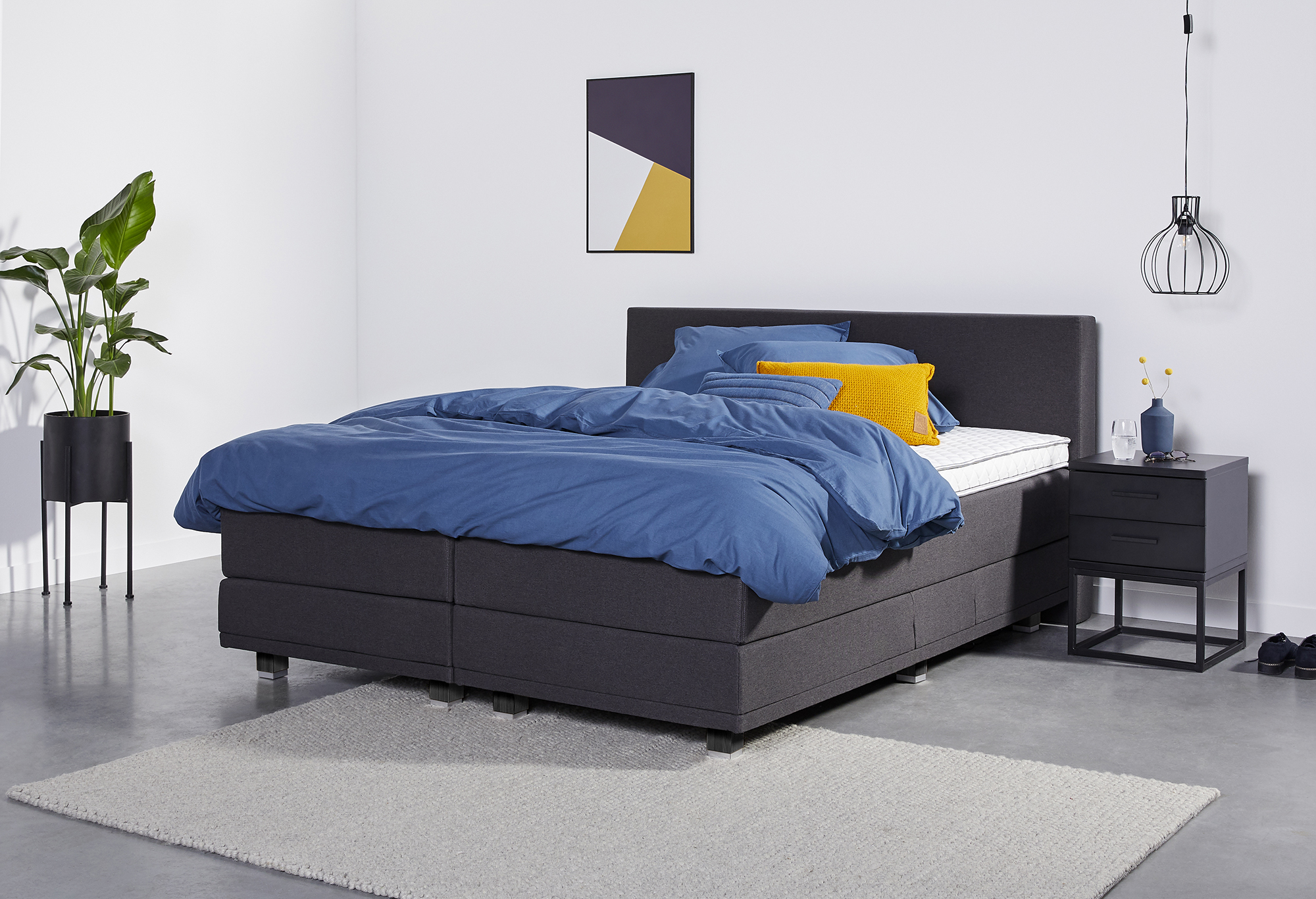 Boxspringbett Web-Only Snooze Deluxe | Swiss Sense