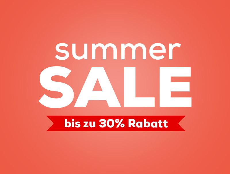 Summer Sale bei Swiss Sense  Bis zu 30% Rabatt