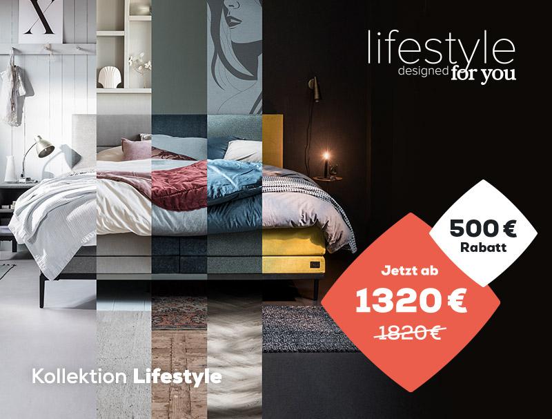 Summer Sale 500 € Einführungsrabatt auf die Lifestyle Kollektion | Swiss Sense
