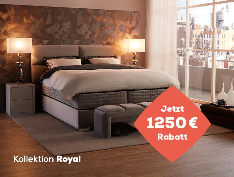 1250 € Rabatt auf die Royal Kollektion während des Summer Sales   Swiss Sense