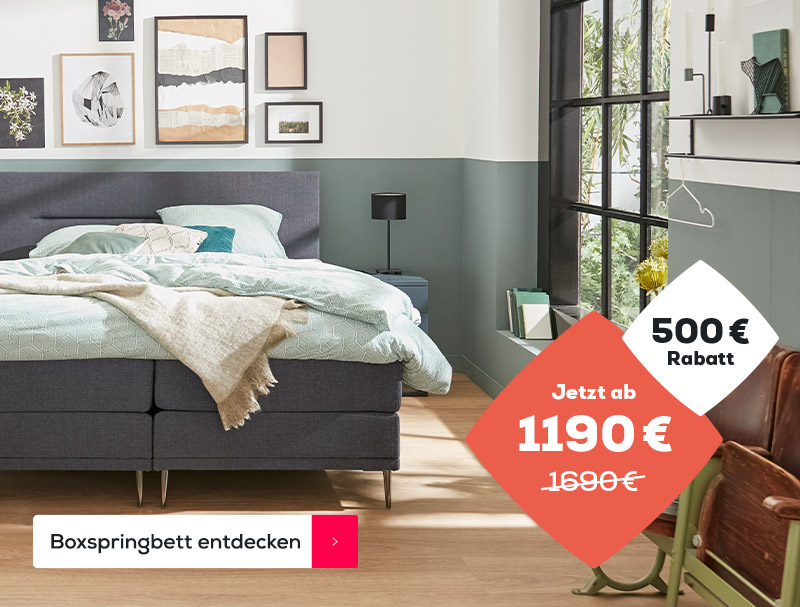 Boxspringbett Home 250 | Swiss Sense