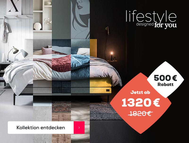 Summer Sale €500 Rabatt auf die Lifestyle Kollection | Swiss Sense