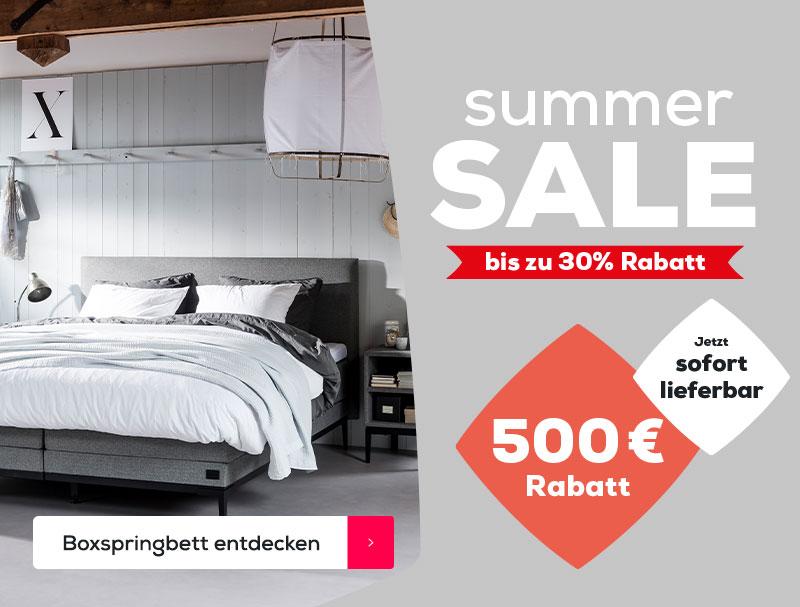 Boxspringbett Lifestyle Thyme | Summer Sale | Swiss Sense