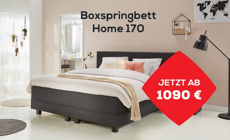 Aktion Boxspringbett Home 170 | Swiss Sense