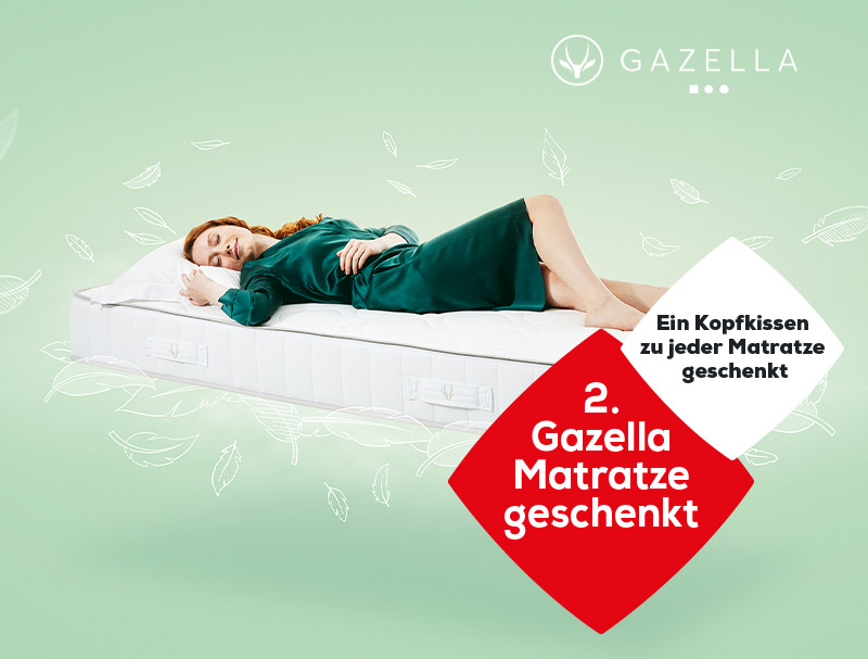 Gazella Matratzen Aktionen   Swiss Sense
