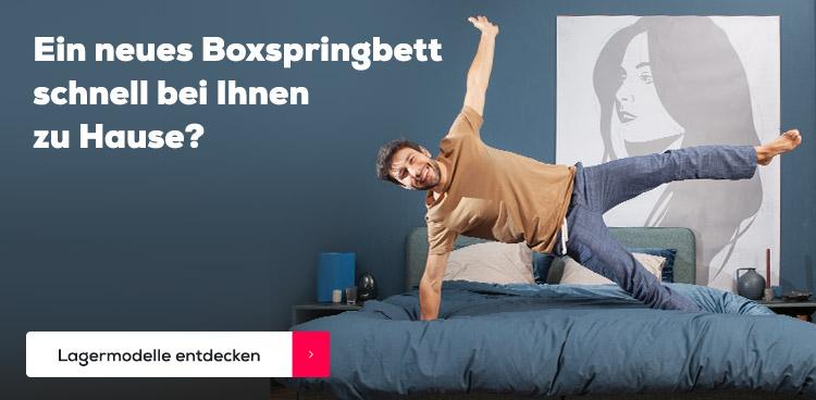 Ein neues Boxspringbett schnell bei Ihnen zu Hause? | Swiss Sense