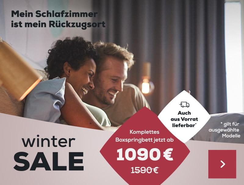 Winter Sale Aktionen| Swiss Sense
