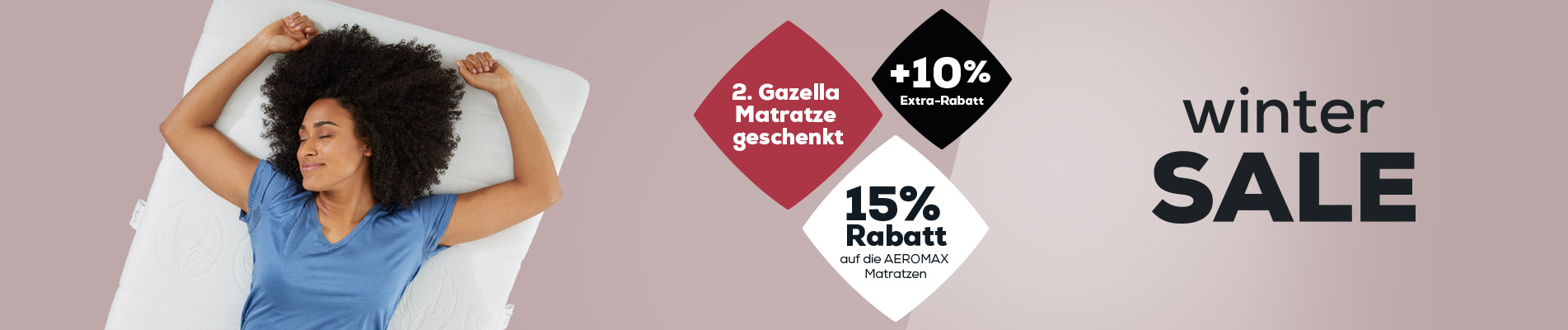 Matratzen Kollektion - Winter Sale | Swiss Sense