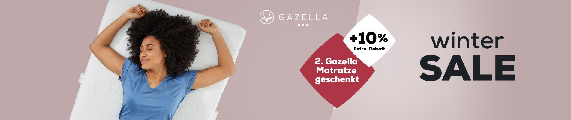 Gazella Matratzen Kollektion - Winter Sale   Swiss Sense
