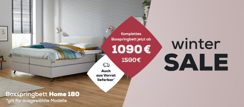 Smart Kollektion - Winter Sale| Swiss Sense